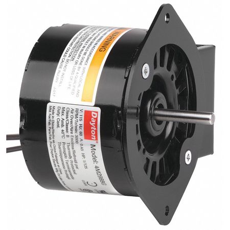 HVAC Motor, 1/125 HP, 3000 rpm, 115V, 3.3