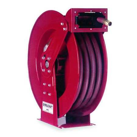 "Hose Reel, Spring, 1/2"", 75 ft"