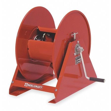 Hose Reel, Hand Crank, 1/2 In ID x 300 Ft