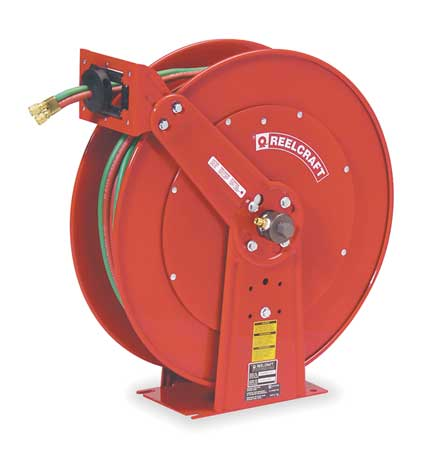 Hose Reel, Welding Gas, 75 Ft