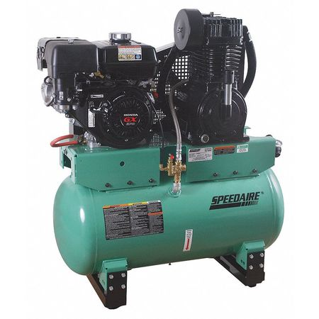 Stationary Air Compressor, 9 HP, Honda