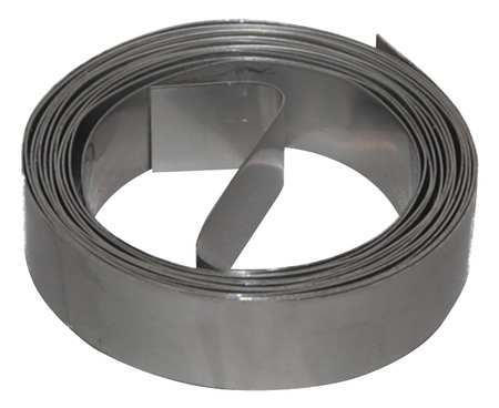 Duct Strapping, 10 Ft L, 304SS