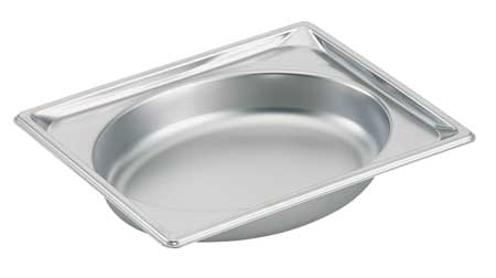 Steam Table Pans, Half Oval