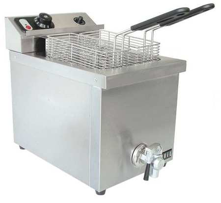 Electric Counter Top Fryer,  11 1/2 x 21