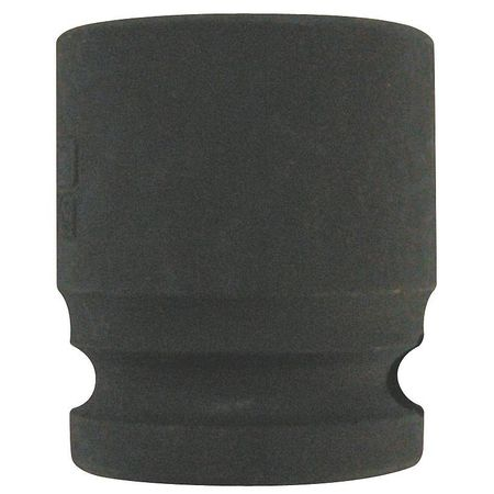 Impact Socket, 3/8In Dr, 19mm, 6pts