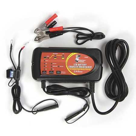 Battery Charger, 120V, 8/4/2A