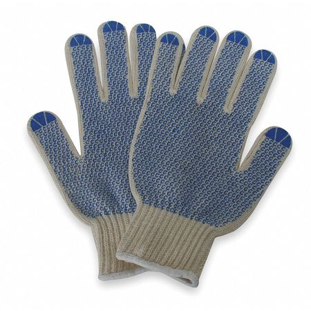 Knit Glove, Poly/Cotton, XL, PR