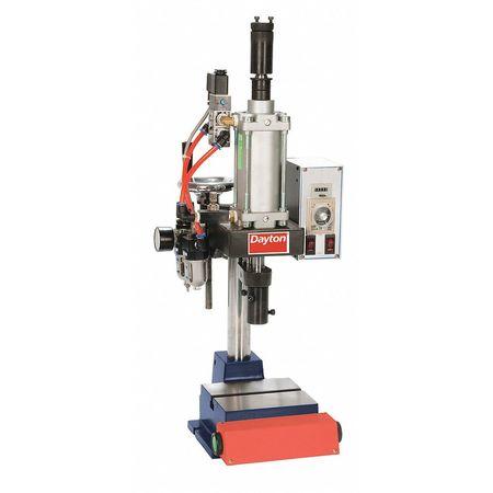Pneumatic Press, Range 400 Lbs, 7 In Swing