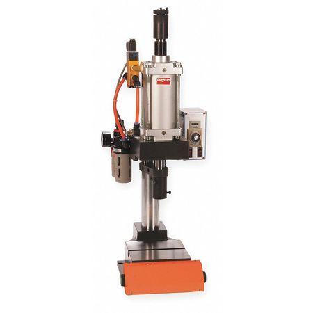 Pneumatic Press, Range 1000 Lbs, 8.5 Swing