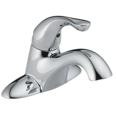Bathroom Faucet Swing Spout,  Chrome,  3 Holes,  Lever Handle