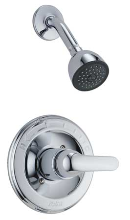 Shower Only, Trim, Lever Handle, Chrome