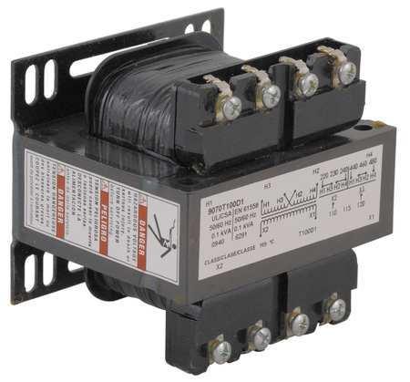 Control Transformer, 100VA, 208/277/380VAC