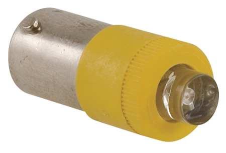 Miniature LED Bulb,  BA9s Base, Amber