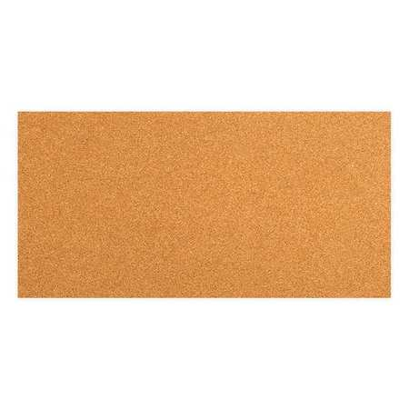 Cork Sheet, Fiber Board, 1/2 x48x96 In, PK5
