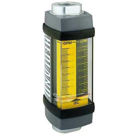 Flowmeter, GPM/LPM  3.0 - 30 / 10-115