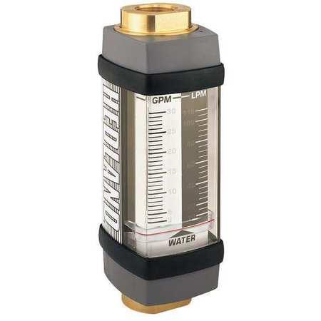 Flowmeter, GPM/LPM  1.0 - 10 / 5-38