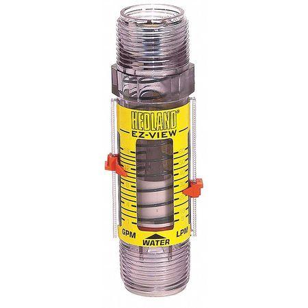 Flowmeter,  1 MNPT,  4-28 GPM