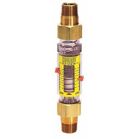 Flowmeter,  3/4 MNPT,  1-10 GPM