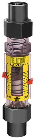 Flowmeter,  1 SOC,  1-10 GPM