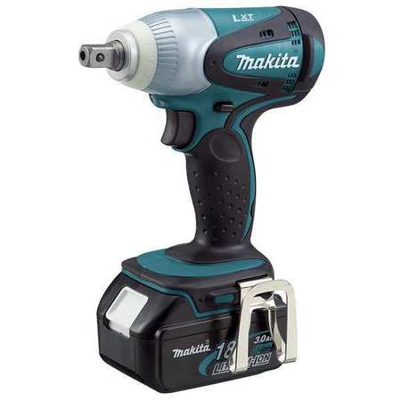 Cordless Impact Wrench Kit, 6-1/2 In. L