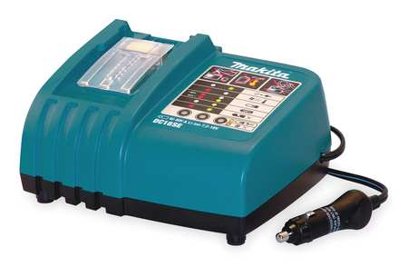 Battery Charger,  7.2 to 18.0V,  Li-Ion,  Makita LXT