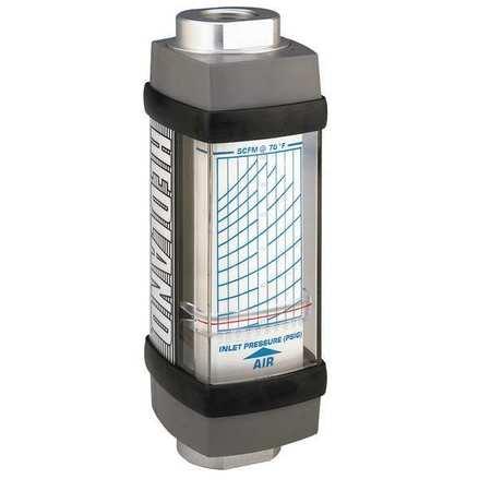 Flowmeter, SCFM / L/SEC 10 - 100 / 5-47.5