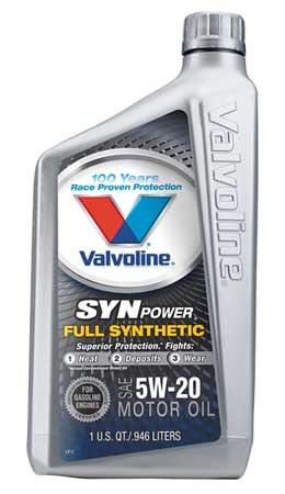 Motor Oil,  Full Synthetic,  32 Oz,  5W-20
