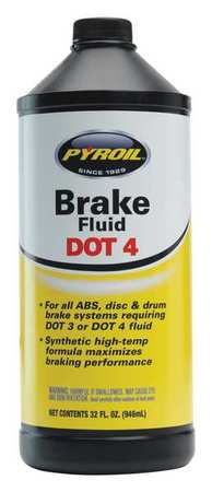 Brake Fluid,  32 Oz,  Dot 4