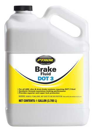 Brake Fluid, 1 Gal, Dot 3