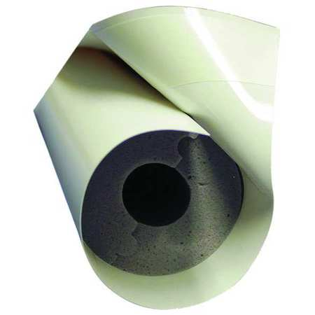 "1-5/8"" x 4 ft. Melamine Foam Pipe Insulation 1"" Wall"