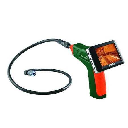 Video Borescope, 3.5 In, 39 In Shaft