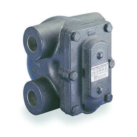 Steam Trap, 406F, Cast Iron, 0 to 125 psi
