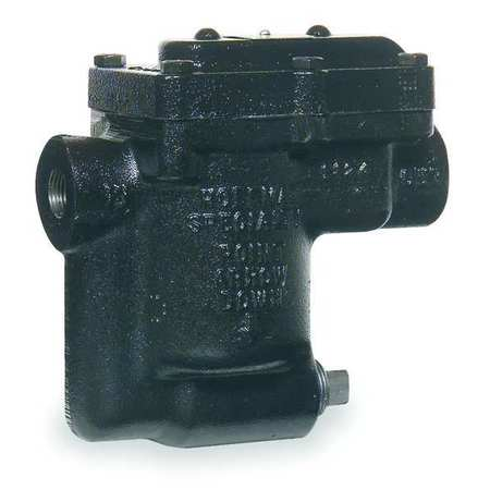 Steam Trap, 450F, Cast Iron, 0 to 75 psi