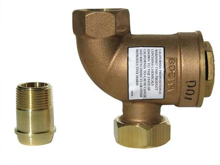 Steam Trap, 125 psi, 353F, 3-5/32 In. L