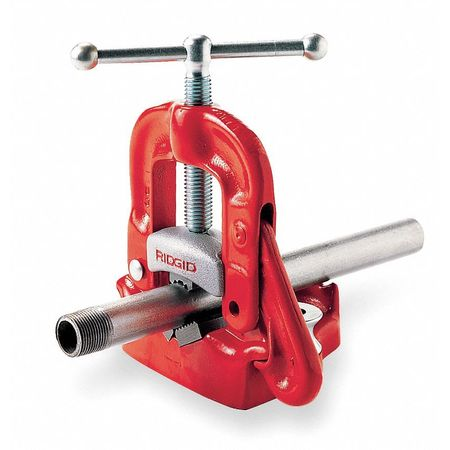 Bench Yoke Vise, 1/8 to 4 In.