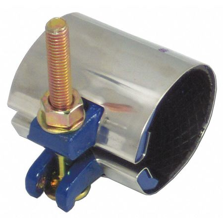 Repair Clamp,  Pipe Size 2 In,  6 In L