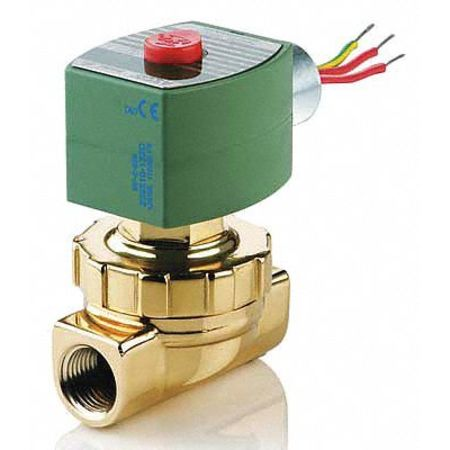 "3/4"" NPT 2-Way Steam & Hot Water Solenoid Valve 24VDC"