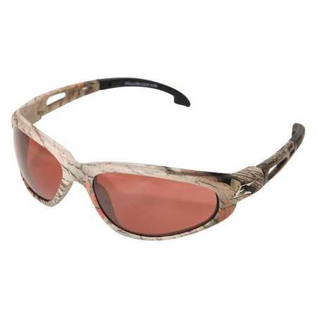 Edge Eyewear Copper Polarized Eyewear,  Scratch-Resistant,  Wraparound