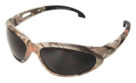 Edge Eyewear Smoke Polarized Eyewear,  Scratch-Resistant,  Wraparound