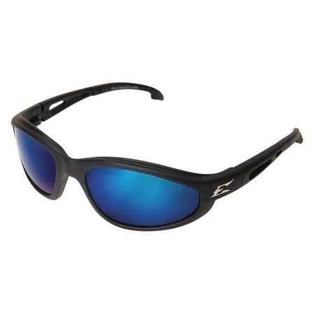 Edge Eyewear Blue Mirror Polarized Eyewear,  Scratch-Resistant