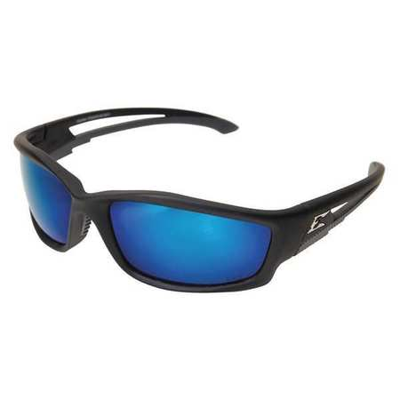 Edge Eyewear Blue Mirror Polarized Eyewear,  Scratch-Resistant