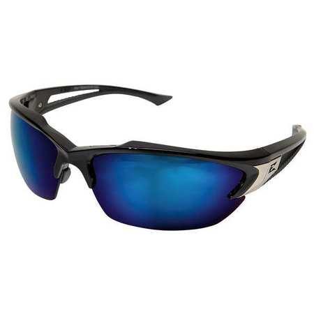 Edge Eyewear Blue Mirror Safety Glasses,  Scratch-Resistant