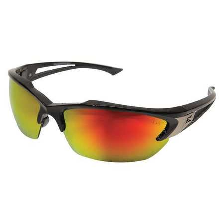 f25ae2afd9abc Edge Eyewear Khor Safety Glasses With Black Frame And Red Scratch ...