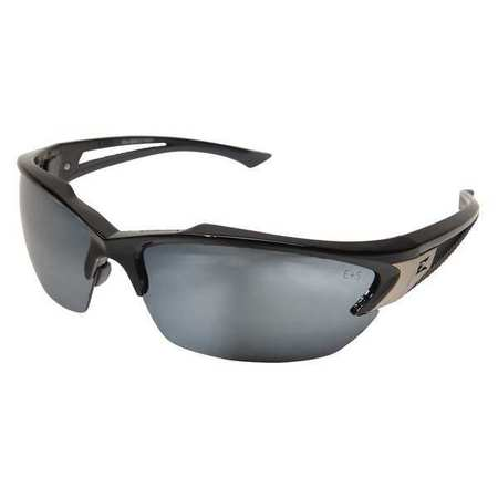 Edge Eyewear Silver Mirror Safety Glasses,  Scratch-Resistant