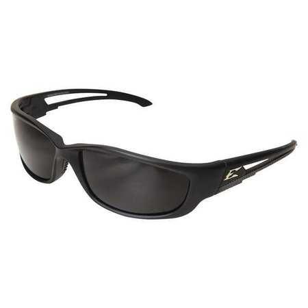 Edge Eyewear Smoke Polarized Eyewear,  Scratch-Resistant,  Wraparound