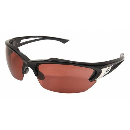 Edge Eyewear Copper Safety Glasses,  Scratch-Resistant