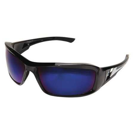 Edge Eyewear Blue Mirror Safety Glasses,  Scratch-Resistant