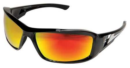 Edge Eyewear Red Mirror Safety Glasses,  Scratch-Resistant