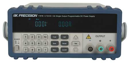 Programmable DC Power Supply, 0 to 72 VDC