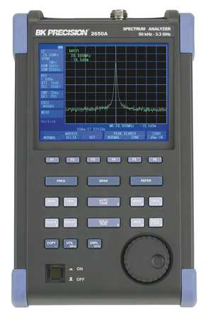 Spectrum Analyzer, 50 kHz to 3.3 GHz